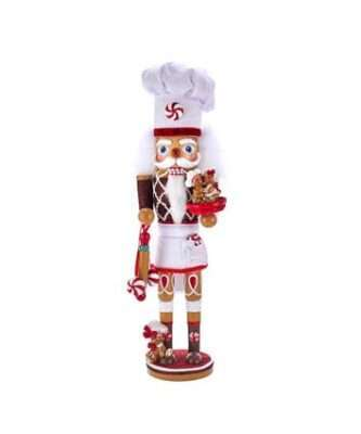 """15.5"""" Hollywood™ Gingerbread Chef Nutcracker"""