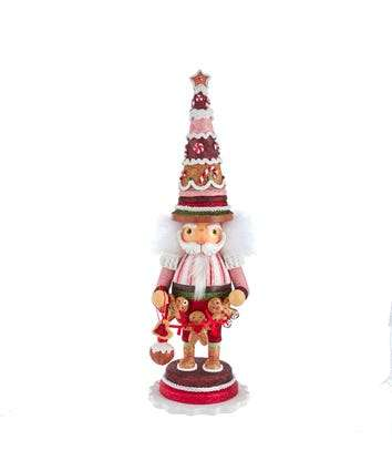 Hollywood™ Gingerbread Tree Hat Nutcracker