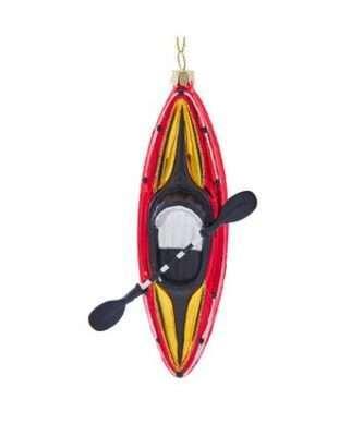 Glass Kayak Ornament