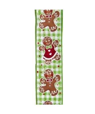 Gingerbread Design Ribbon