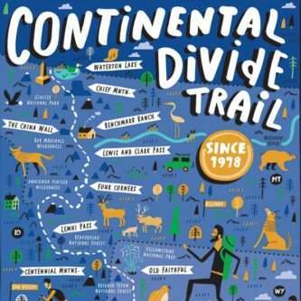 Continental Divide Trail Puzzle