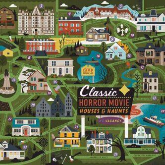 Classic Horror Movie Puzzle