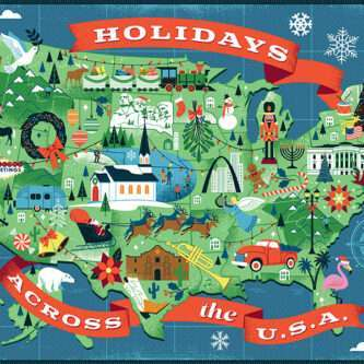 Holidays Across the USA Puzzle