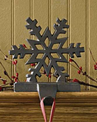 Iron Snowflake Holder Three Styles