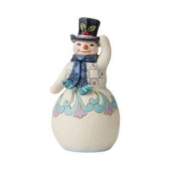 Snowman with Top Hat Jim Shore Heartwood Creek