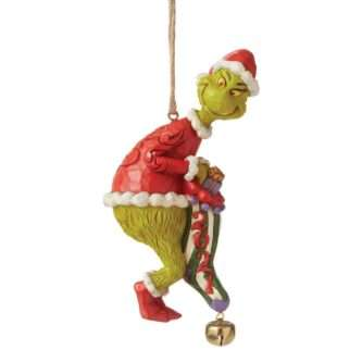 Grinch Dated Stocking Ornament Grinch by Jim Shore