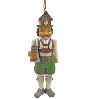 German Nutcracker Ornament Jim Shore Heartwood Creek