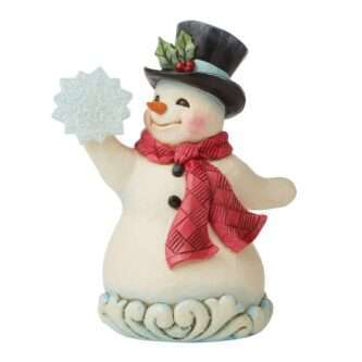 Wonderland Snowman/Snowflake Jim Shore Heartwood Creek