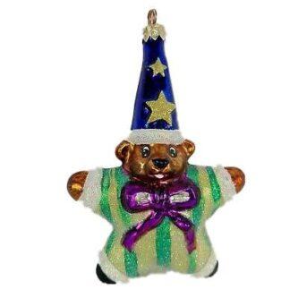 Rare Retire Star Bear Little Gem Radko Ornament