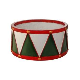 Outdoor Resin Drum Planter or Stand Short