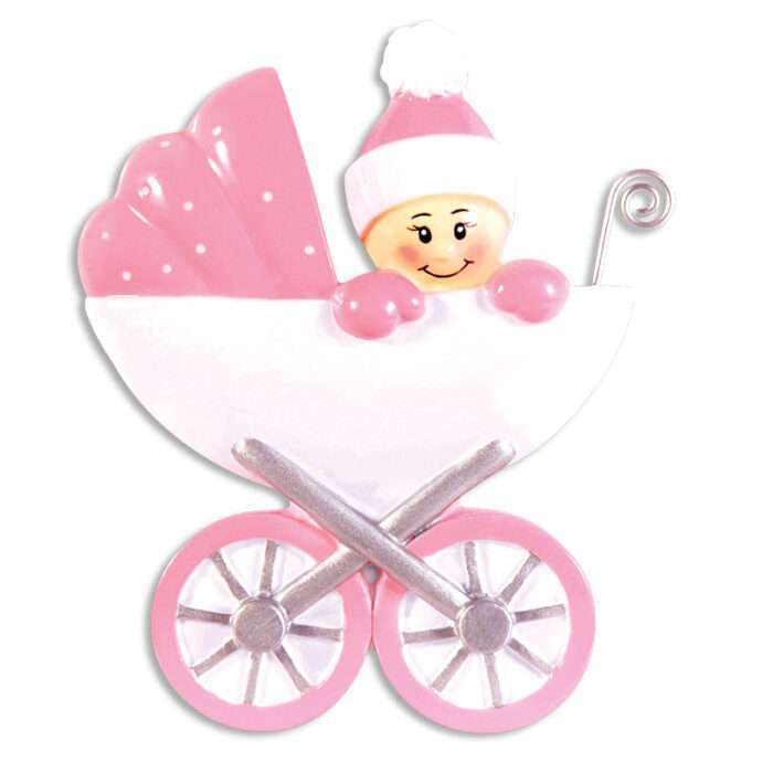 Baby Carriage personalize ornament