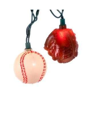 10-Light Baseball and Glove Light Set
