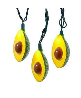 10-Light Avocado Light Set