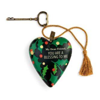 Dear Friend Christmas Art Heart