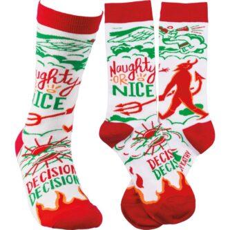 Socks - Naughty Nice Decisions Decisions
