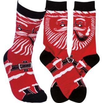Modern Santa Socks