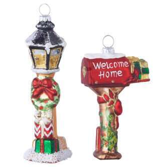 """5.5"""" MAILBOX OR LAMP POST ORNAMENT"""