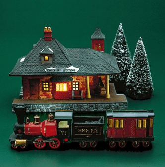 Chadbury Station And Train Dickens Village
