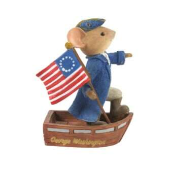 George Washington Mouse Tails with Heart