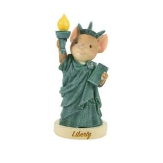 Statue of Liberty Mouse Tails with Heart