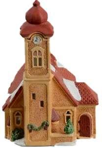 D56 Retired Rare Vintage Caramel Alpine Church