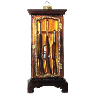 Gun Cabinet Glass Figurine Ornament