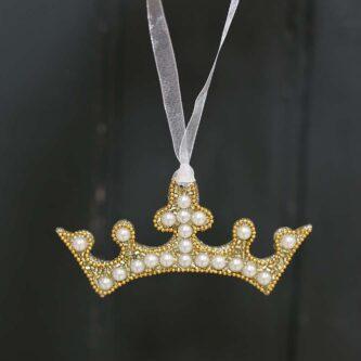 Charlotte Crown Ornament