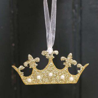 Meghan Crown Ornament
