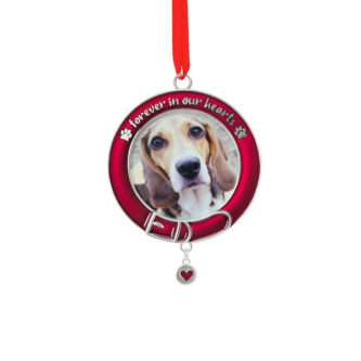 Pet Memorial Photo Holder Ornament
