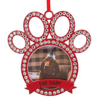 Pet Furbaby Photo Holder Ornament