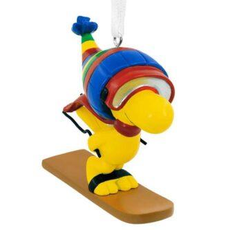 Woodstock Ornament Skier