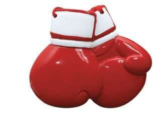 Red Boxing Gloves Ornament personalize