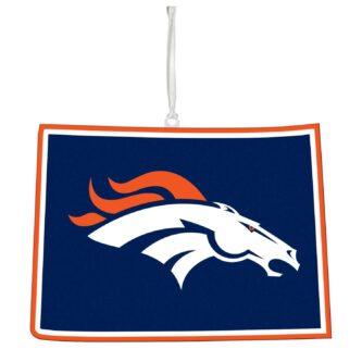 Denver Broncos, State Ornament