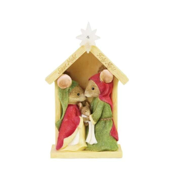 Nativity Creche figurine Tails with Heart