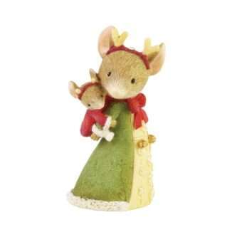 Reindeer Love figurine Tails with Heart