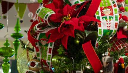 St. Nick's Christmas & Collectibles presenting their best Christmas trees in Littleton, CO