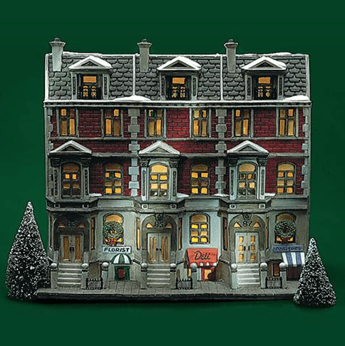 Christmas in the City Sutton Place Brownstones